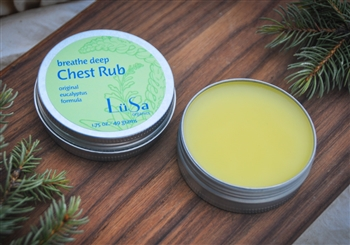 natural organic baby body care handmade chest rub