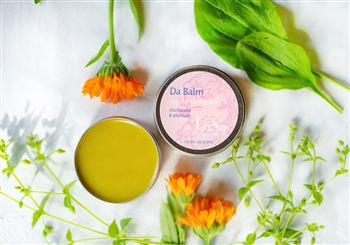 natural skin care balm chicken pox salve