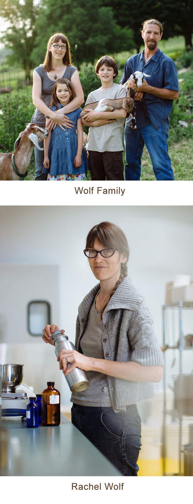 Rachel Wolf and Family